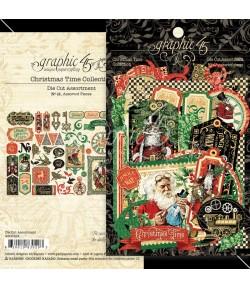 DIE CUTS G45 CHRISTMAS TIME N°48 - 4502124