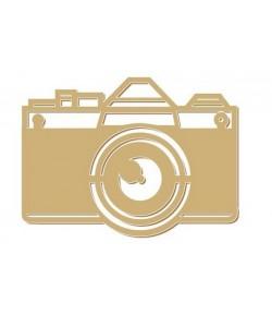 APPAREIL PHOTO EN BOIS 6X4.4CM