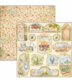 PAPIER AESOP'S FABLES TAGS AND FRAMES CIAO BELLA 30.5X30.5CM CBSS159