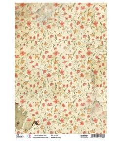PAPIER DE RIZ A4 TINY FLOWERS 21 X 29.7CM CBRP191