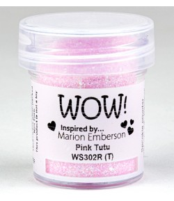 POUDRE A EMBOSSER WOW GLITTERS - PINK TUTU - WS302R