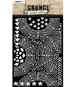 POCHOIR GRUNGE - MASK14
