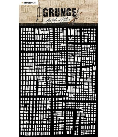 POCHOIR GRUNGE - MASK15