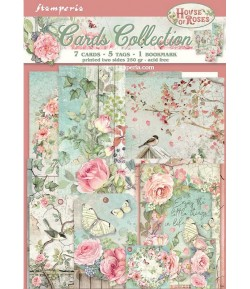 KIT CARTE COLLECTION HOUSE OF ROSES - SBCARD04 STAMPERIA