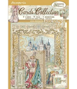 KIT CARTE COLLECTION SLEEPING BEAUTY - SBCARD05 STAMPERIA
