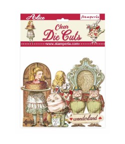 FORMES ACETATE - DIE CUTS ALICE THROUGH THE LOOKING GLASS - DFLDCP11