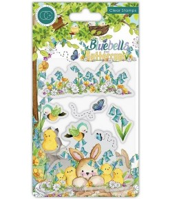 TAMPONS BLUEBELLS AND BUTTERCUPS CHICKS  - CRAFT CONSORTIUM