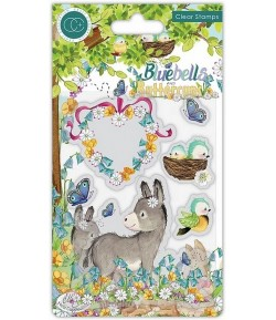 TAMPONS BLUEBELLS AND BUTTERCUPS DONKEY  - CRAFT CONSORTIUM