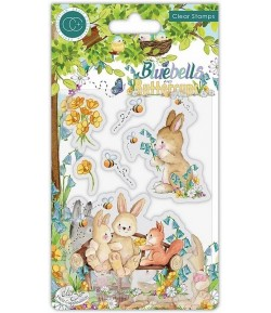 TAMPONS BLUEBELLS AND BUTTERCUPS BENCH - CRAFT CONSORTIUM