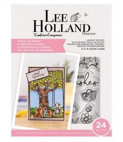 TAMPONS ET DIES SPRING HAS SPRUNG - LEE HOLLANDE CRAFTER'S COMPANION