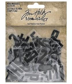LETTRES EN PLASTIQUE  X 144 - TIM HOLTZ IDEA-OLOGY