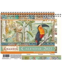CALENDRIER AMAZONIA  -  STAMPERIA ECL2206