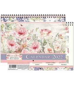 CALENDRIER HOUSE OF ROSES - STAMPERIA ECL2202