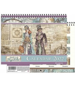 CALENDRIER LADY AND SIR VAGABOND - STAMPERIA ECL2204