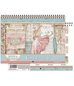 CALENDRIER PASSION - STAMPERIA ECL2203