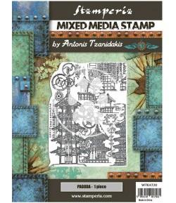 TAMPONS HD MIXED MEDIA SIR VAGABOND IN JAPAN PAGODA WTKAT20