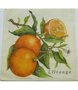 SERVIETTE L'ORANGE