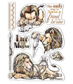 TAMPONS TRANSPARENTS THE LION AND THE MOUSE PS8006 CIAO BELLA