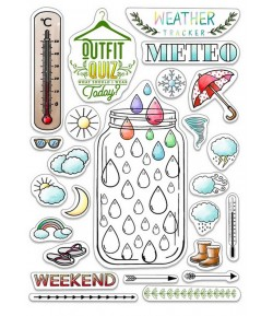 TAMPONS TRANSPARENTS BUJO WEATHER PS8015 CIAO BELLA