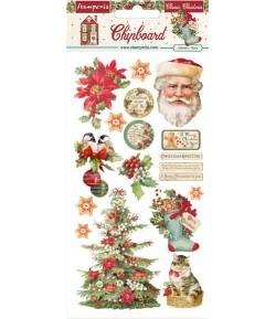 CHIPBOARD CLASSIC CHRISTMAS 15X30 - DFLCB36 STAMPERIA