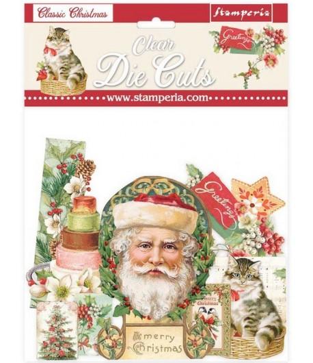 FORMES ACETATE - DIE CUTS CLASSIC CHRISTMAS - DFLDCP09