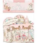 FORMES ACETATE - DIE CUTS PINK CHRISTMAS - DFLDCP10