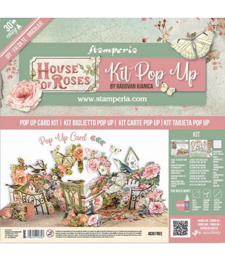 KIT POP UP - HOUSE OF ROSES - SBPOP02