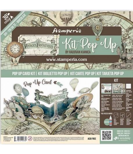 KIT POP UP - VOYAGES FANTASTIQUES - SBPOP03