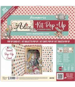 KIT TUNNEL POP UP - ALICE WONDERLAND - SBPOP05