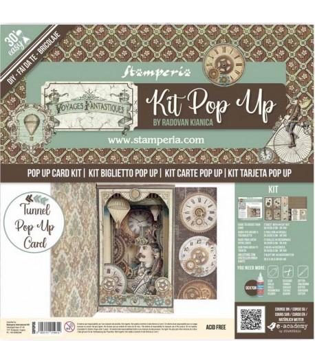 KIT TUNNEL POP UP - VOYAGES FANTASTIQUES - SBPOP06