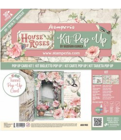 KIT TUNNEL POP UP - HOUSE OF ROSES - SBPOP04
