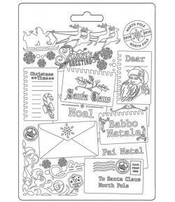 MOULE PVC FLEXIBLE ROMANTIC CHRISTMAS - CARDS - K3PTA598