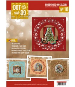 KIT COMPLET FEUILLES 3D HISTORY OF CHRISTMAS COLOUR 10