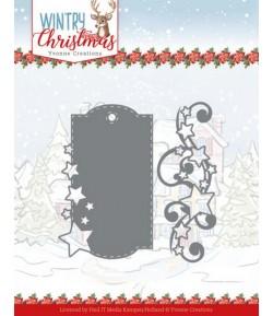 DIES WINTRY CHRISTMAS - STARS AND SWIRLS YCD10249