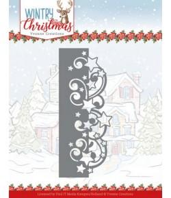DIES WINTRY CHRISTMAS - STARS BORDER YCD10246