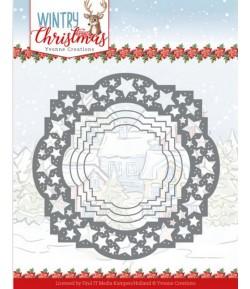 DIES WINTRY CHRISTMAS -  STARS FRAME YCD10242