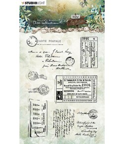 TAMPONS POSTCARD AND TICKETS - NEW AWAKENING - STAMP20