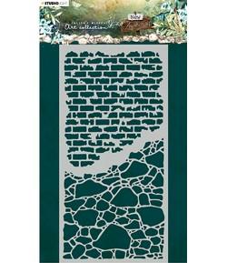 POCHOIR TONE WALLS - NEW AWA2KENING - MASK04