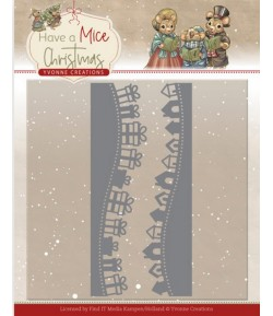DIES HAVE A MICE CHRISTMAS - GIFT BORDERS YCD10250