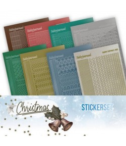 LOT 8 STICKERS DOT AND DO CHRISTMAS CHSTS017