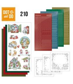 KIT 3D DOT WINTRY CHRISTMAS - DODO210