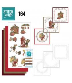 KIT 3D A BRODER HAVE A MICE CHRISTMAS STDO164