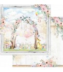 BLOC 12 FEUILLES 30.5 X 30.5 CM - DREAM LAND  - ASUKA STUDIO