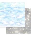BLOC 12 FEUILLES 30.5 X 30.5 CM - SPARKLY SKY  - ASUKA STUDIO