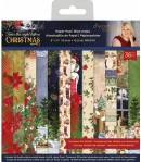 BLOC 36 FEUILLES 15.2  X 15.2 CM - TWAS THE NIGHT BEFORE CHRISTMAS