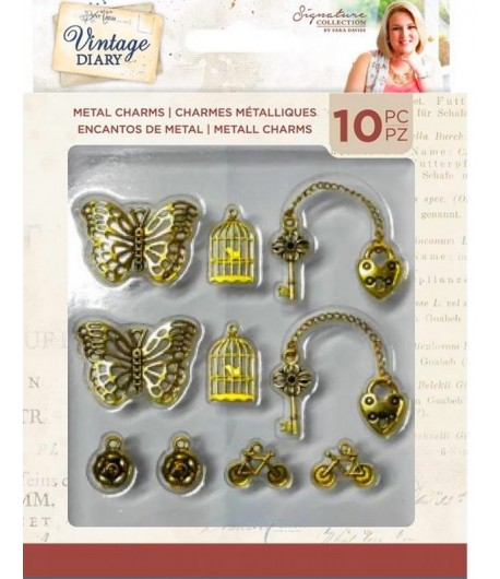 CHARMS VINTAGE DIARY - CRAFTER'S COMPANION