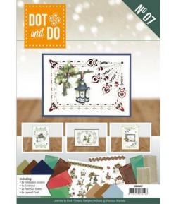 LIVRET KIT 3D DOT AND DO NATURE OF CHRISTMAS DODOA6007