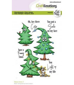 TAMPONS XMAS TREES 1 - A6