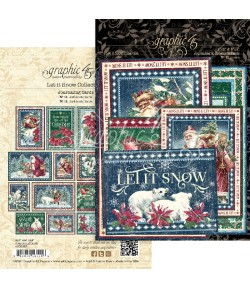 JOURNALING CARDS G45 LET IT SNOW - 4502327