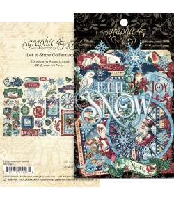 EPHEMERA ASSORTMENT G45 LET IT SNOW - 4502328